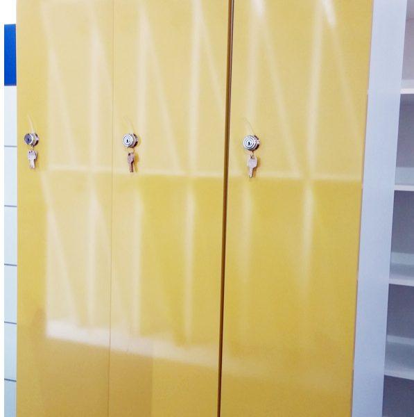 1단 노랑 LPM (W300*H1870*D490)